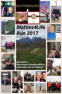 Matties4Life Run flyer