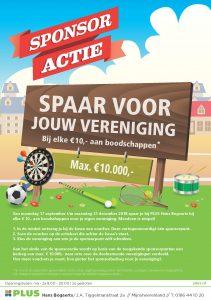 Sponsoractie winkel - A5 Flyer - Sponsoractie